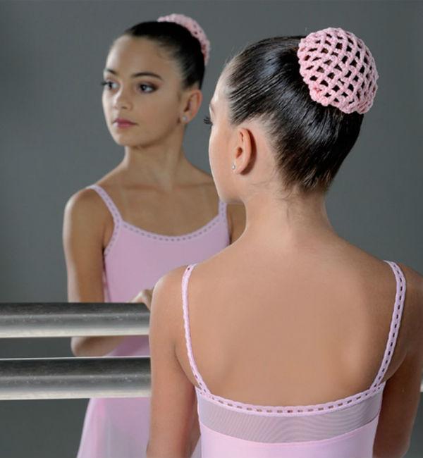 Сеточка для волос для гимнастики
